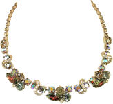 One Kings Lane Vintage Weiss Watermelon & AB Crystal Necklace