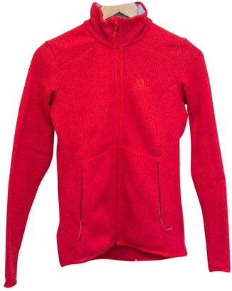 Salomon Orange Synthetic Jackets