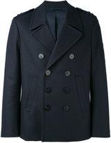 Neil Barrett double-breasted jacket - men - Polyamide/Spandex/Elastane/Cupro/Virgin Wool - 48