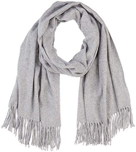 Vero Moda Women's Vmana Wool Long Scarf Noos Medium Grey Melange