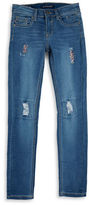 Vigoss Girls 7-16 Distressed Rhinestone Jeans