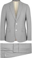 Paul Smith Soho Light Grey Wool Travel Suit
