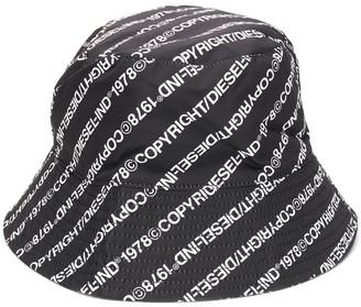 Diesel Copyright Logo Print Hat