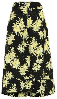 Proenza Schouler Floral cady skirt