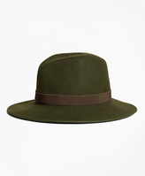 Brooks Brothers Foldable Fedora