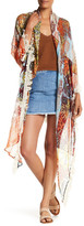 Steve Madden Tropical Crave Triangle Wrap Scarf