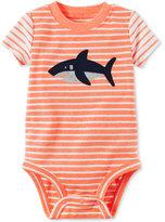 Carter's Striped Shark Bodysuit, Baby Boys (0-24 months)