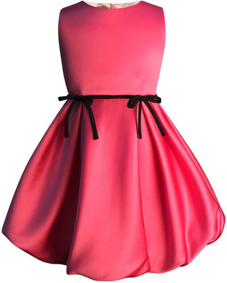 Helena Girl's Sleeveless Satin Dress, Size 2-6