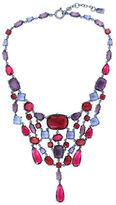 Lauren Ralph Lauren Hematite Statement Bib Necklace