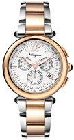 Salvatore Ferragamo Two-Tone Chronograph Watch