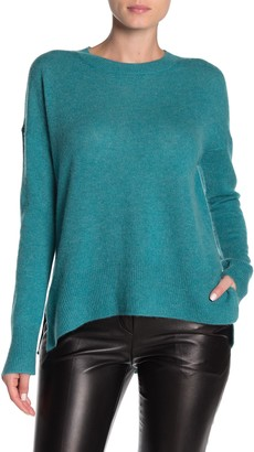 M Magaschoni High/Low Pullover Cashmere Sweater