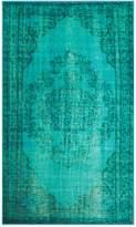 nuLoom Overdyed Style Rug - Turquoise - Multiple Sizes