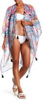 Pilyq Lesa Tassel Kimono Cover-Up