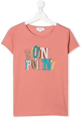 Bonpoint TEEN logo print T-shirt