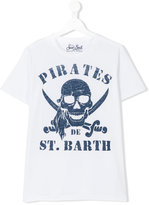 Mc2 Saint Barth Kids teen pirate motif t-shirt