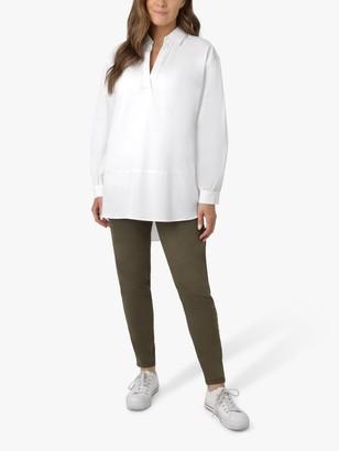 Live Unlimited High Low Hem Shirt, White