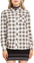 BCBGeneration Gingham Plaid Button-Down Shirt