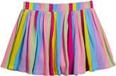 Design History Girls Girl's Rainbow Stripe Skort, Size 6X-6