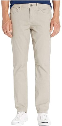 Hudson Jeans Blake Slim Straight Twill Jean (Gravel) Men's Casual Pants