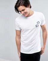 Brave Soul Bullet Print Pocket T-Shirt