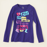 Children's Place Shoe lover graphic tee