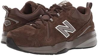 New Balance 608v5 (Grey Suede/Grey Suede) Men's Cross Training Shoes
