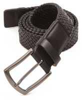 Trafalgar Men's 'Ethan' Braided Leather Belt