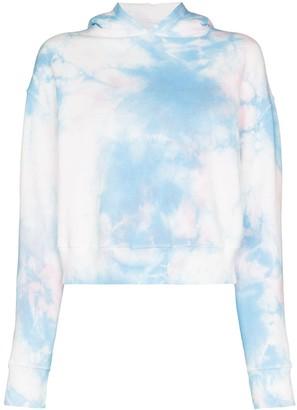 Frankie's Bikinis Burl tie-dye hoodie