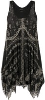 Isabel Marant Bead-Embellished Mini Dress