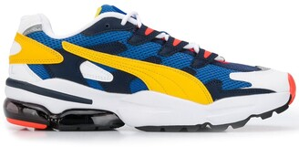 Puma Colour Blocked Low Top Sneakers