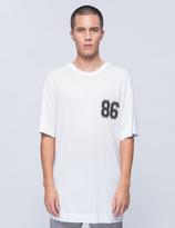 Helmut Lang Oversized Varsity T-Shirt