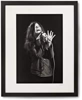 Sonic Editions Framed Janis Joplin, San Francisco Print, 17 X 21 - Black