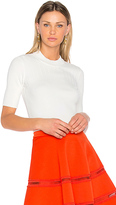 Carven Ribbed Knit Top