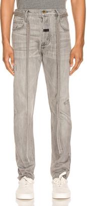 Fear Of God Slim Denim Jeans in God Grey | FWRD