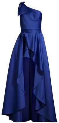 Jay Godfrey Tany One-Shoulder Romper & Removable Skirt