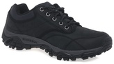 Merrell Black 'moab Rover' Black Leather Hiking Shoes