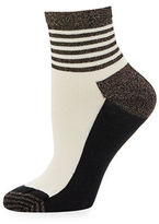 Happy Socks Half Stripe Anklet Socks