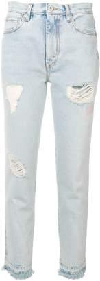 Heron Preston distressed effect jeans