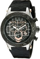 Mulco Men's MW5-2331-025 Couture Analog Display Swiss Quartz Black Watch