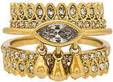 Luv Aj The Cosmic Teardrop Ring Set