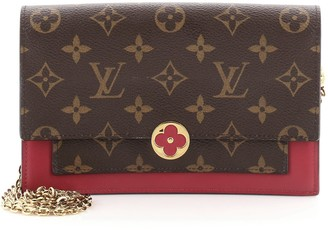 Louis Vuitton Flore Chain Wallet Monogram Canvas