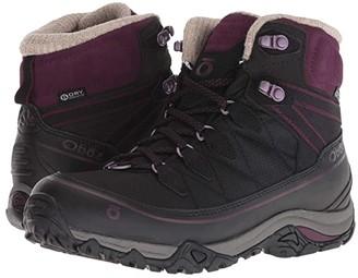 Oboz Juniper 6 Insulated BDRY (Eclipse Black/Beet) Women's Shoes