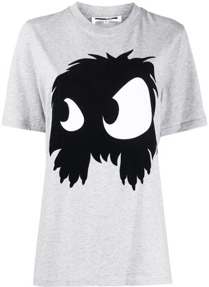 McQ Swallow printed monster T-shirt