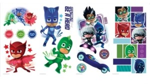 York Wall Coverings Pj Masks Peel and Stick Wall Decals