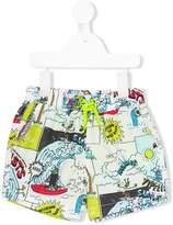 Stella McCartney Josh printed swim shorts