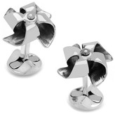 Cufflinks Inc. Sterling Silver Origami Pinwheel Cuff Links