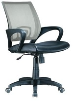Lumisource Officer Desk Chair Silver
