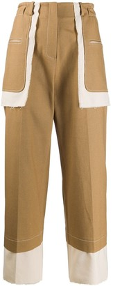 REJINA PYO Reverse Pocket Trousers