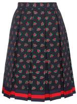 Gucci Pleated A-line skirt