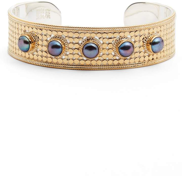 Anna Beck Genuine Blue Pearl Multistone Cuff